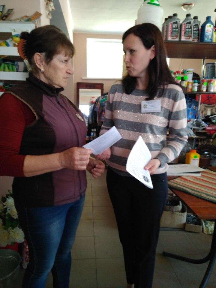 В Білозерському районі проведено рейд з легалізації праці